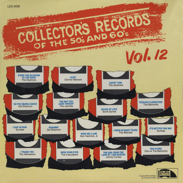 Collector's Records Of The 50s & 60s Vol.12
