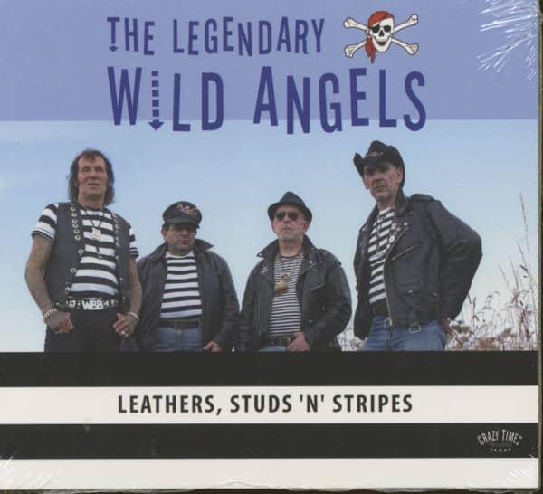 Leathers, Studs'n'Stripes (CD)