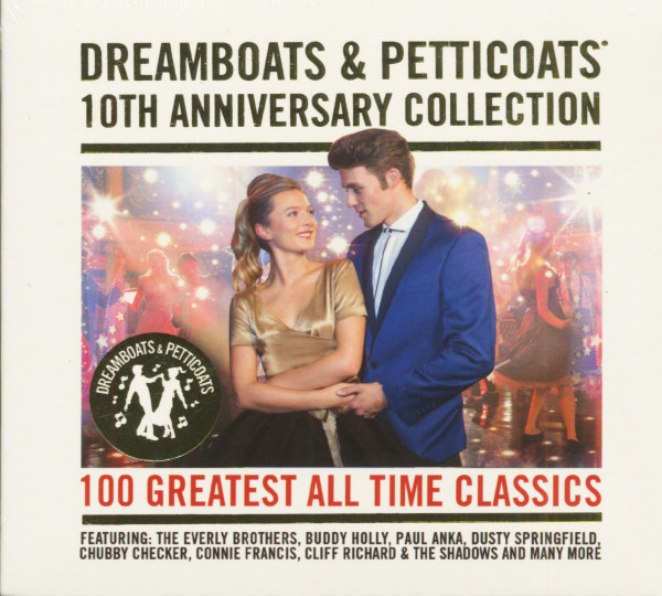 Dreamboats & Petticoats - 10th Anniversary Collection (4-CD)