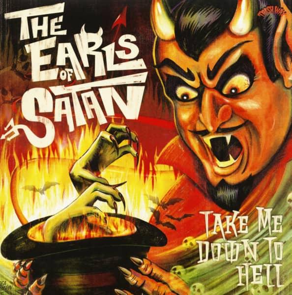 Take Me Down To Hell (LP, Colored Vinyl, Ltd.)