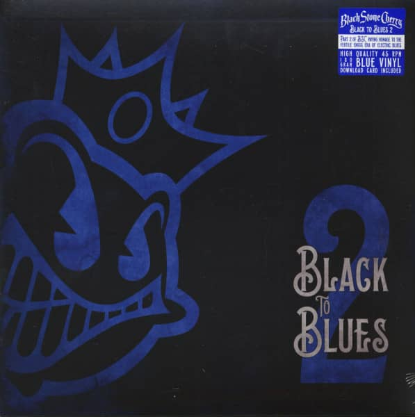 Black To Blues Vol.2 (LP, 180g Blue Vinyl & Download)