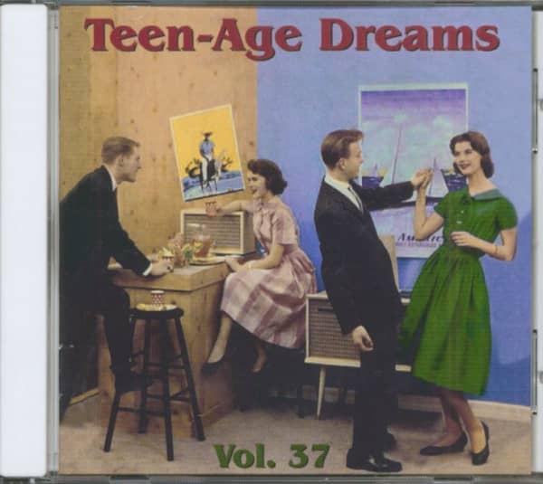 Teen-Age Dreams Vol. 37 (CD)