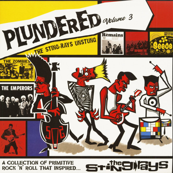 Plundered Vol.3 - The Sting-Rays Unstung (LP, Colored Vinyl, Ltd.)