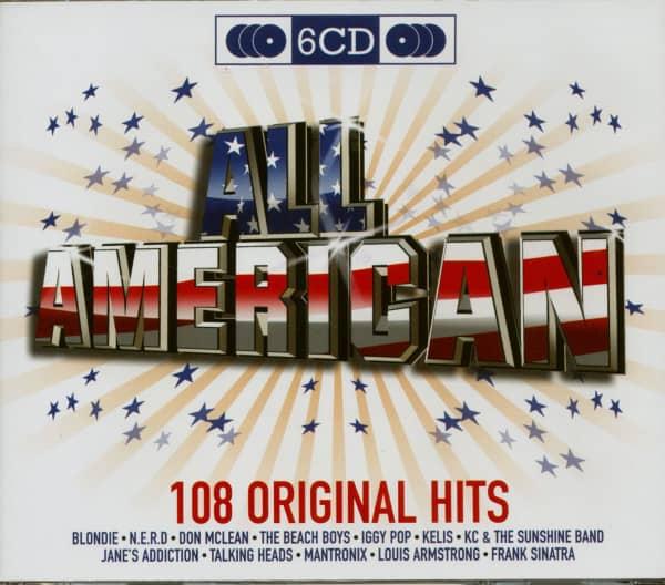 All American - 108 Original Hits (6-CD)