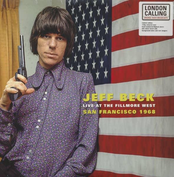 Live At The Fillmore West - San Francisco 1968 (LP, 180g White Vinyl, Ltd. & Numbered)