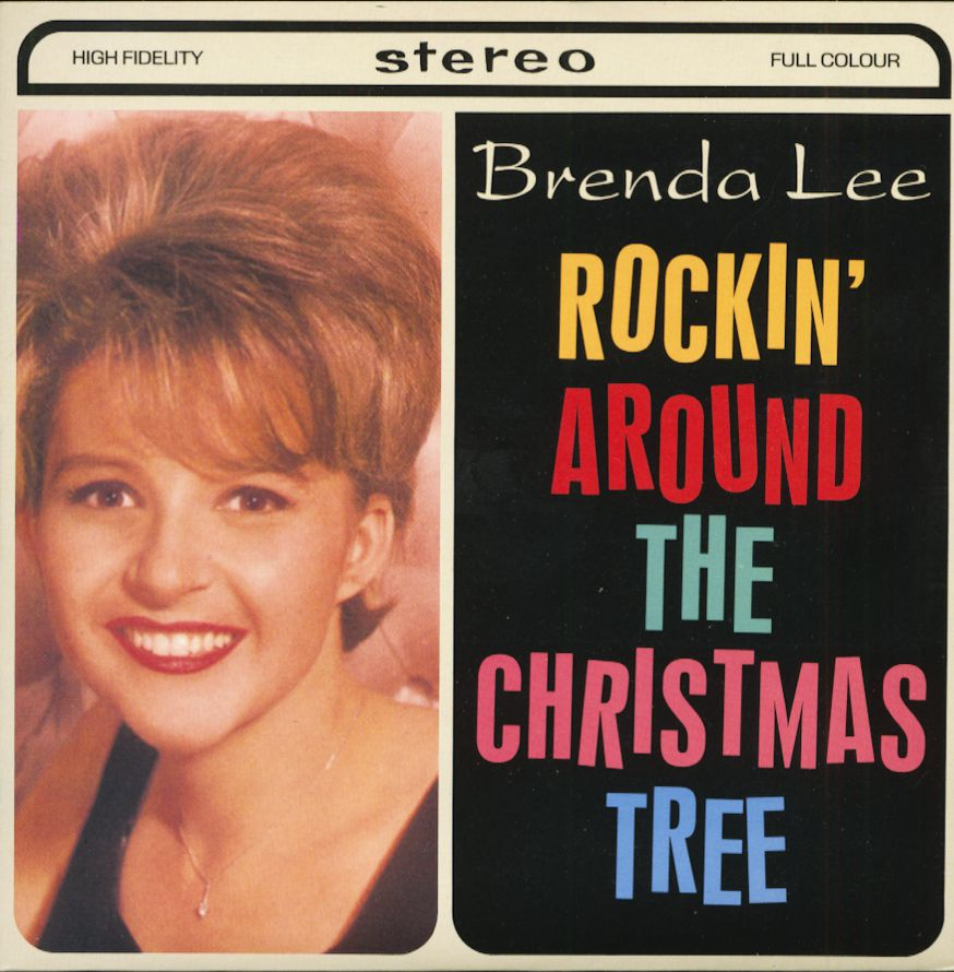 Rockin Around The Christmas Tree Brenda Lee.Brenda Lee Rockin Around The Christmas Tree Let S Jump The Broomstick 7inch 45rpm Ps Sc