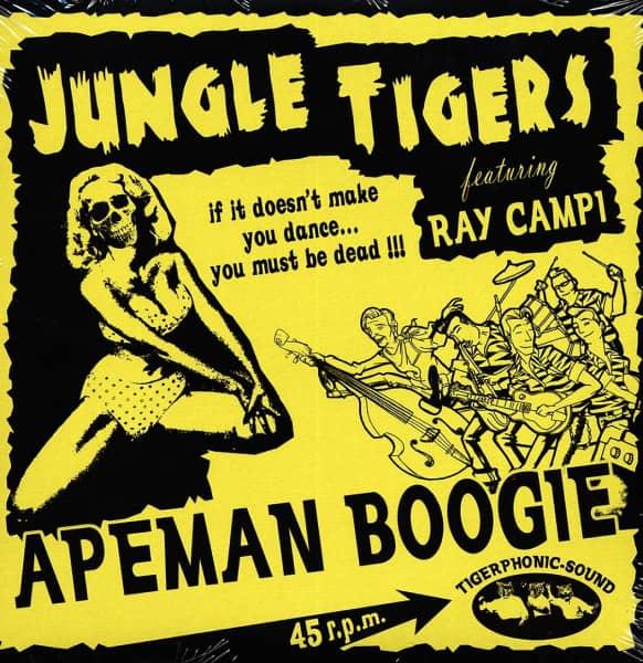 Apeman Boogie 7inch, 45rpm, PS EP