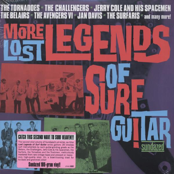 More Lost Legends Of Surf Guitar (2-LP) 180g