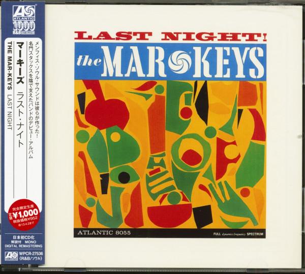 Last Night (CD, Japan)