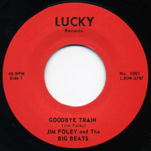 Goodbye Train b-w Blues In The Morning 7inch, 45rpm