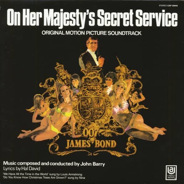 On Her Majesty's Secret Service - Original Motion Picture Soundtrack (LP)