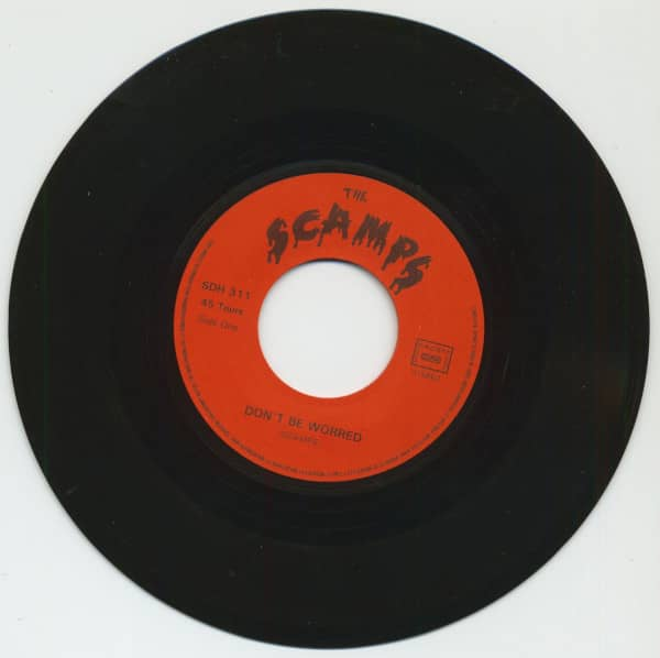 Don't Be Worried - Live Fast, Die Young (7inch, 45rpm)