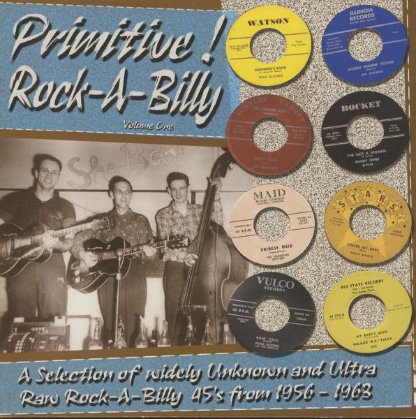 Primitive Rock-A-Billy Vol.1 (LP)