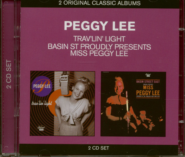 Trav'lin Light & Basin Street Proudly Presents Miss Peggy Lee (2-CD)