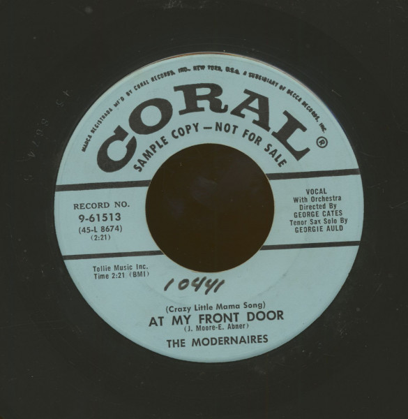 At My Front Door - Alright, Okay, You Win (7inch, 45rpm)