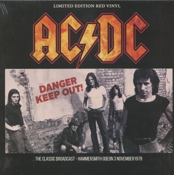 Danger Keep Out! (LP, Red Vinyl, Ltd.)
