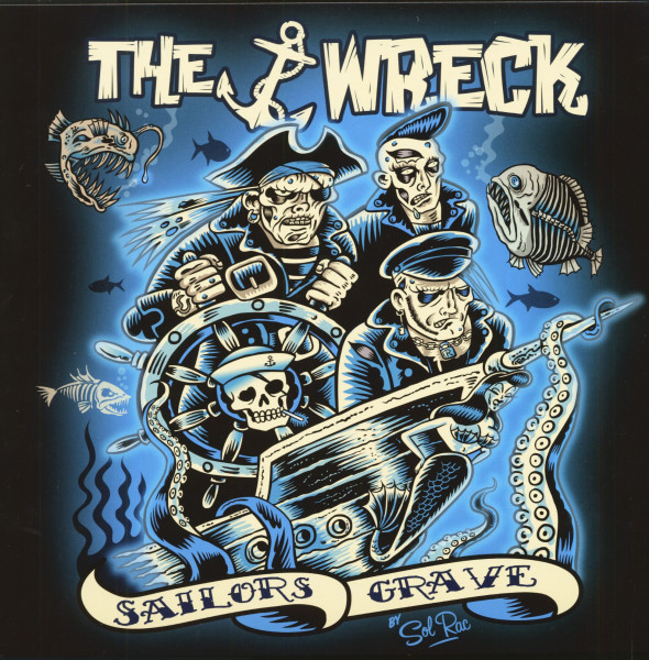 Sailors Grave (LP, Blue Vinyl)