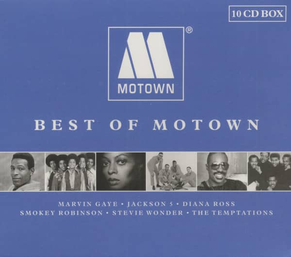Best Of Motown (10-CD Box Set, Ltd.)