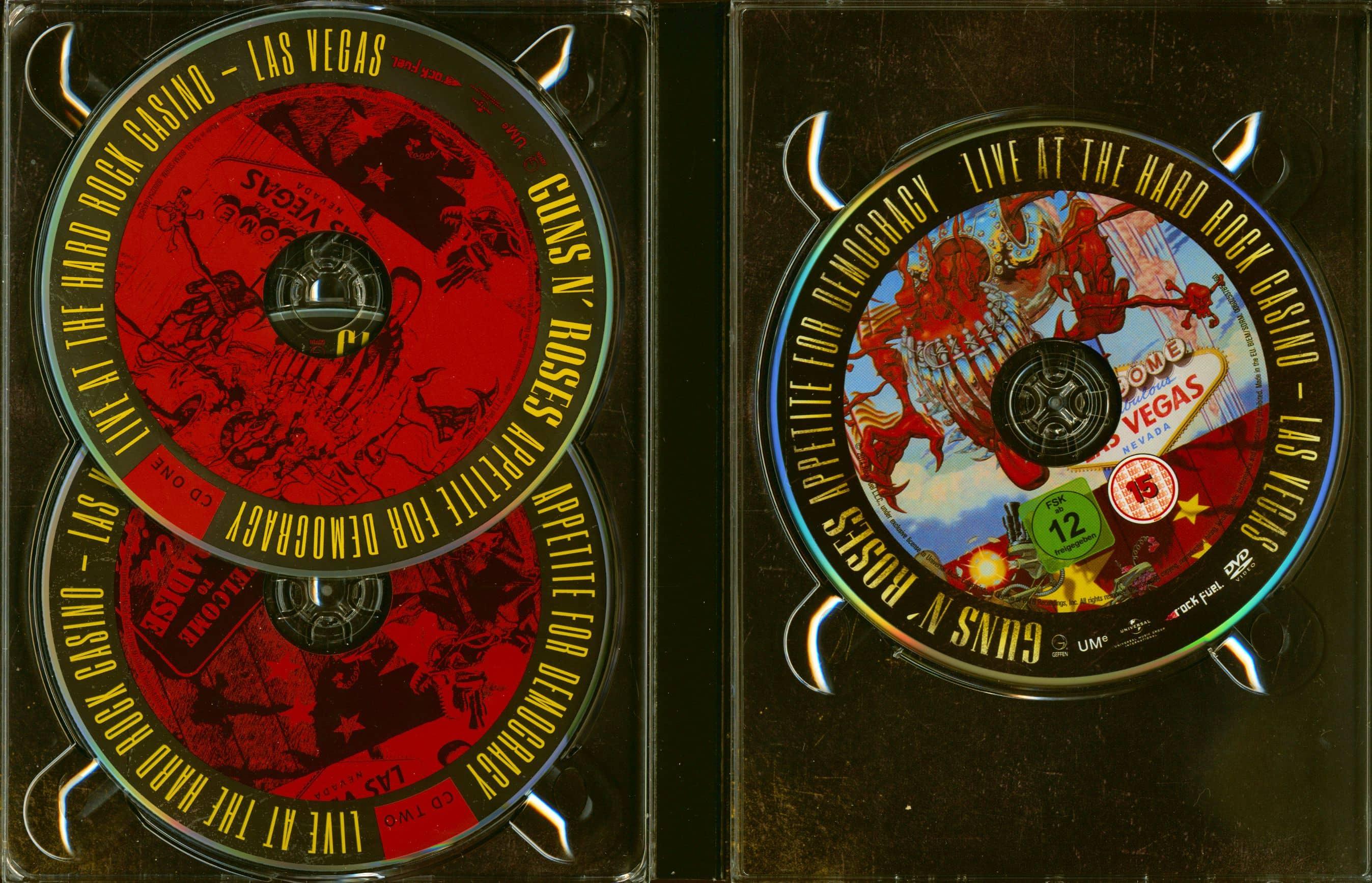 Guns N Roses Cd Appetite For Democracy 2 Cd Amp Dvd