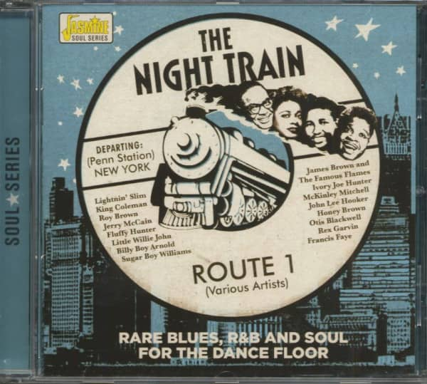 The Night Train - Route 1 - Rare Blues, R&B And Soul (CD)