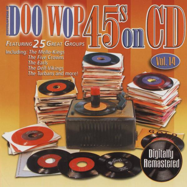 Vol.14, Doo Wop 45s On CD