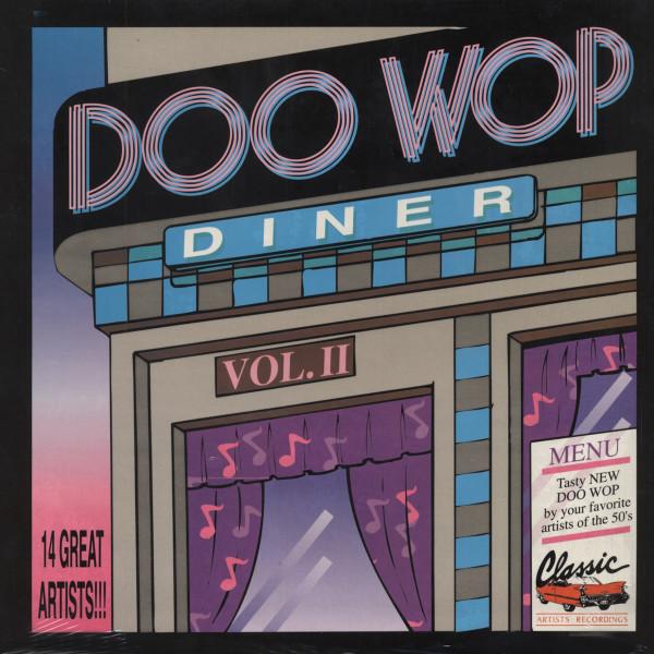 Doo Wop Diner Vol. 2 (Red Wax Vinyl-LP)