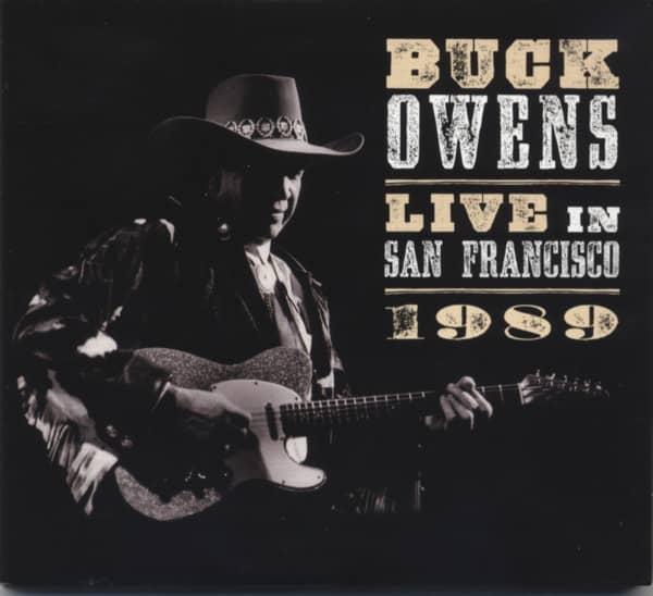 Buck Owens When Buck Came Back Live San Francisco 1989 (2-CD)