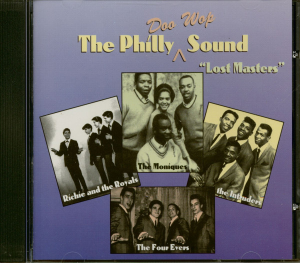 The Philly Doo Wop Sound - Lost Masters (CD)