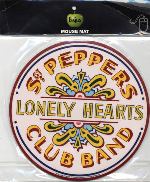 Mousemat - Lonely Hearts - Sgt. Peppers Club Band - (Ø 21,5cm)
