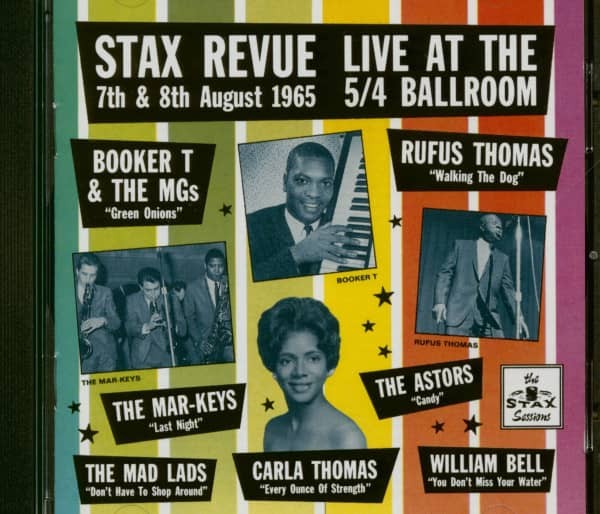 Stax Revue - Live At The 5-4 Ballroom 1965 (CD)