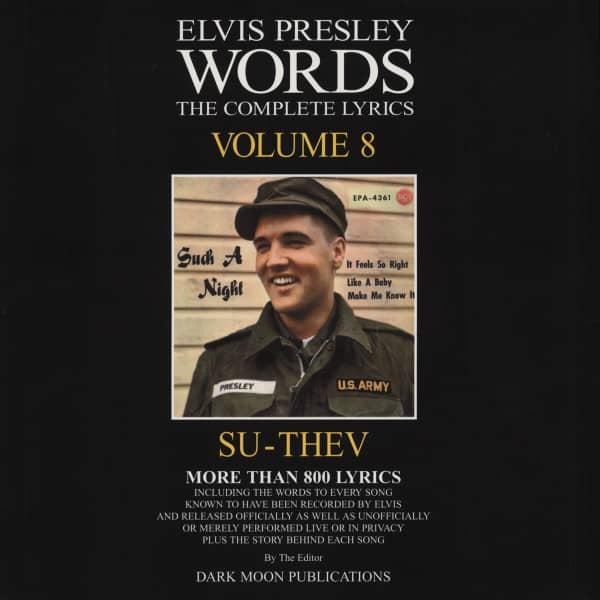 Words Vol.08 - The Complete Lyrics SU-THEV