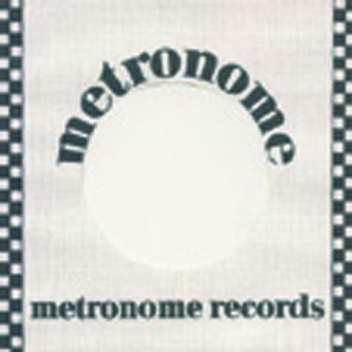 (50) Metronome - 45rpm record sleeve - 7inch Single Cover