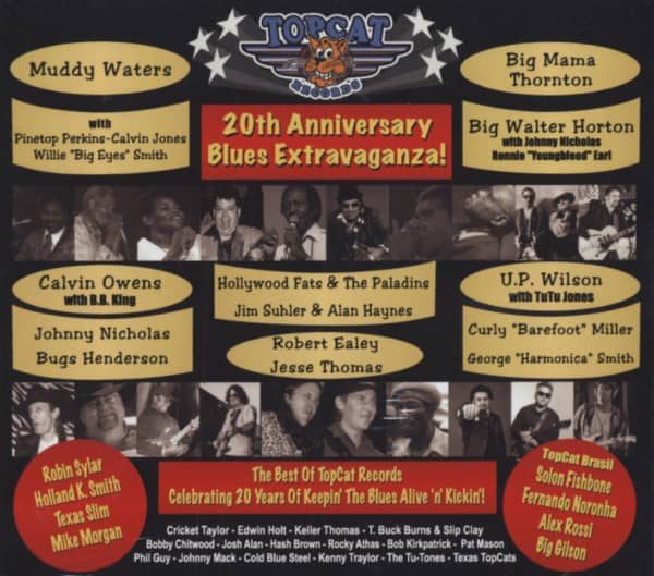 Topcat Records 20th Anniversary Extravaganza