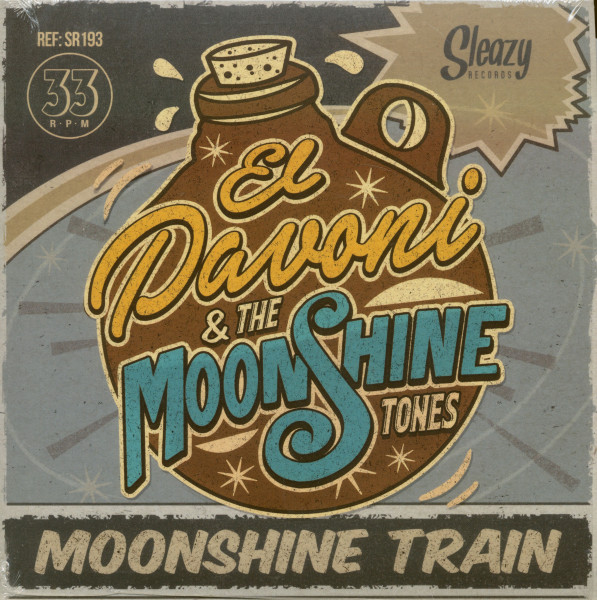 Moonshine Train (7inch, EP, 33rpm, PS)