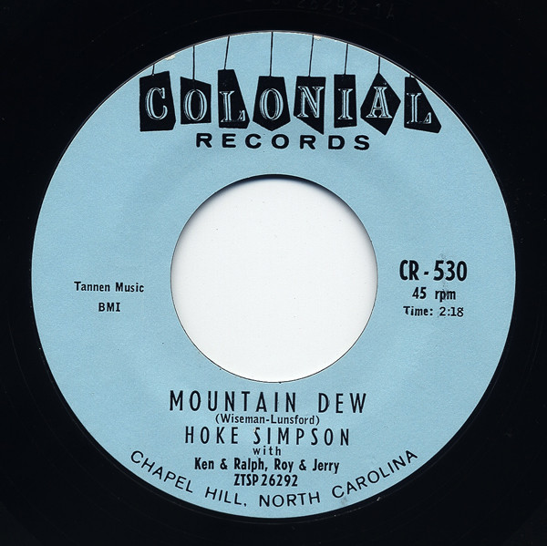 Mountain Dew - Number One 7inch, 45rpm