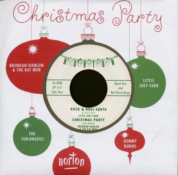 Christmas Party (7inch EP, 45rpm, PS, Colored Vinyl)