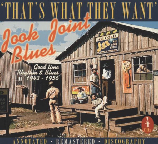 Jook Joints Blues (4-CD Box)