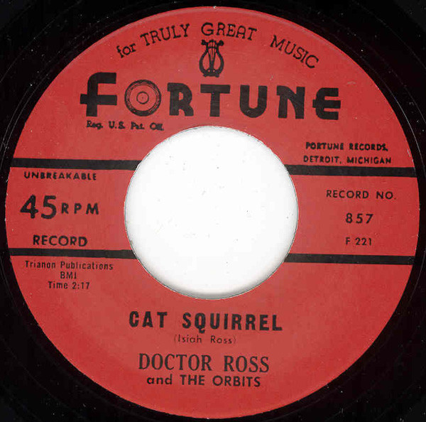 Cat Squirrel - The Sunnyland 7inch, 45rpm