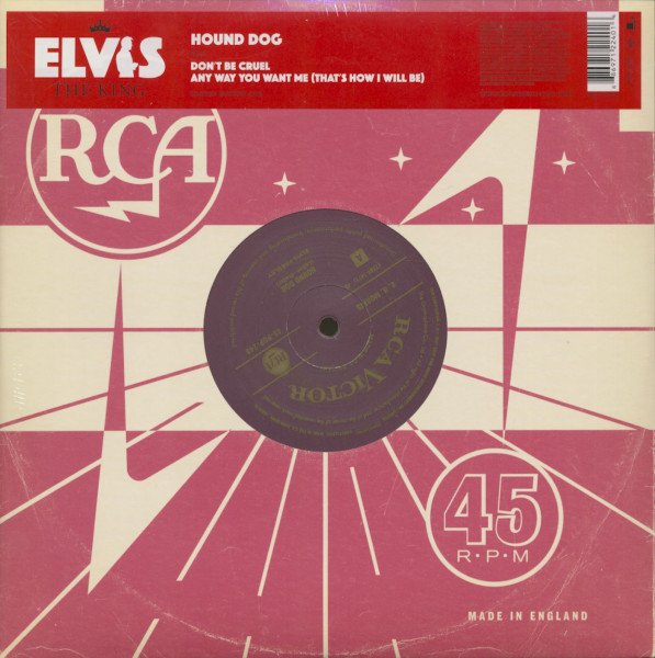 The King, Vol.4 - Hound Dog (10inch, 45rpm, EP)