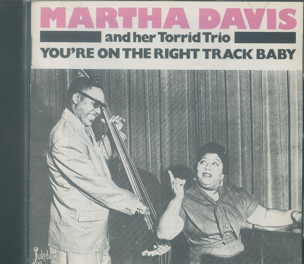 You're On The Right Track, Baby (CD)