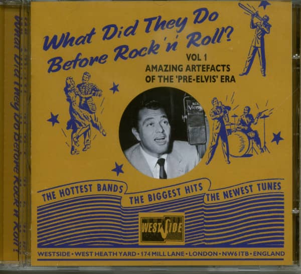 What Did They Do Before Rock & Roll Vol.1 (CD)