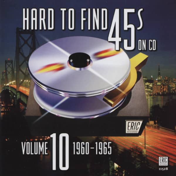 Hard To Find 45s On CD, Vol.10 - 1960-65 (CD)