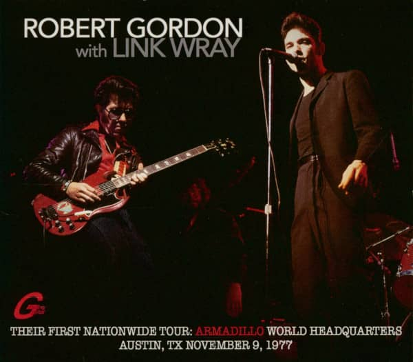 Robert Gordon with Link Wray - Their First Nationwide Tour (CD)