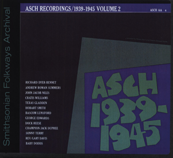 Asch Recordings Vol.2