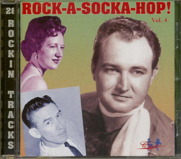 Rock-A-Socka-Hop! Vol.4 (CD)