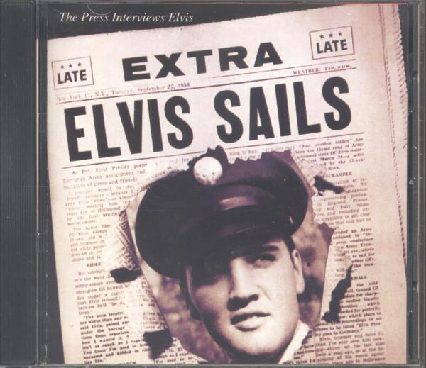 Elvis Sails - The Press Interviews (CD, US Version)