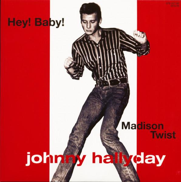 Hey Baby! - Madison Twist (7inch, EP, 45rpm, PS, SC, Red Vinyl, Ltd.)