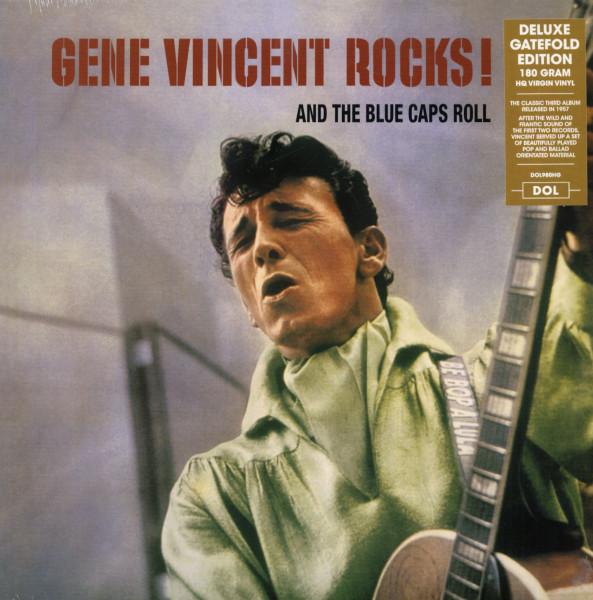Gene Vincent Rocks! And The Blue Caps Roll (LP, 180g HQ Virgin Vinyl)