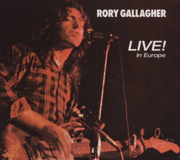 Live In Europe - remastered -