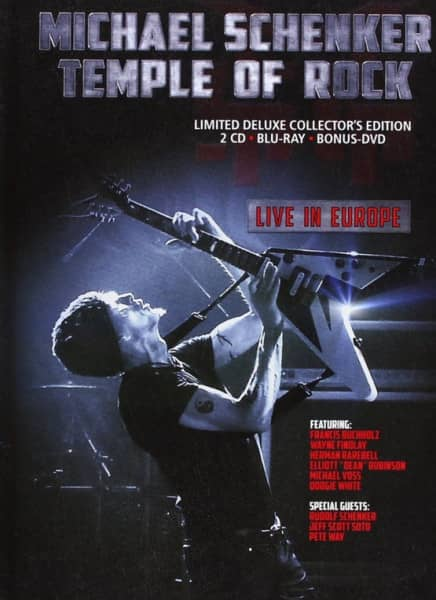 Temple Of Rock - Live In Europe (DVD - CD)
